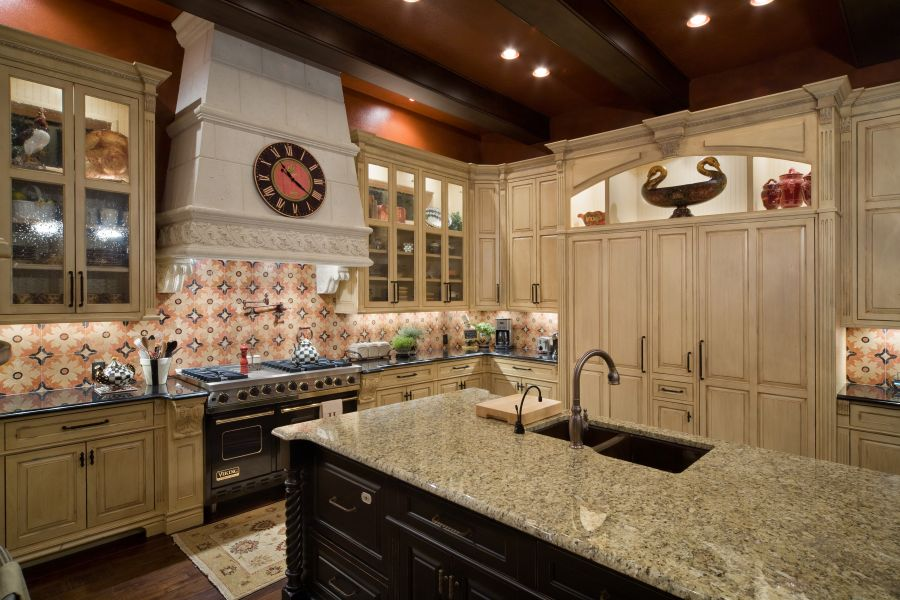 bilmar creations is proud to present to you some of the finest cabinetry and furnishings in the industry where quality of a bygone era is still alive - Old World Kitchen Cabinets